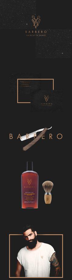 Barbero est un réseau de salons de coiffure premium . Barbero est un réseau de salons de coiffure haut de gamme où les traditions se croisent avec une approche unique pour chaque client. Barber Store, Barber Shop Decor, Logo Branding, Branding Design, Logo Design, Logo Barbier, Barbershop Design, Barbershop Ideas, Barber Logo