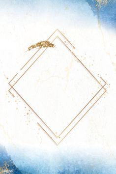 Blank golden rhombus frame vector, 4k iphone and mobile phone wallpaper | premium image by rawpixel.com / Adj Framed Wallpaper, Flower Background Wallpaper, Flower Backgrounds, Poster Background Design, Background Patterns, Pop Art Images, Gold Invitations, Picture Logo, Aesthetic Pastel Wallpaper