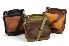 I have a Karine Dupont set in nylon—would love the set on the left for the fall. These are the best travel bags.
