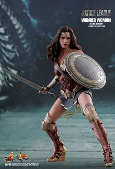 Hot Toys : Justice League - Wonder Woman (Deluxe Version) 1/6th scale Collectible Figure