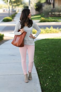 Pink + Grey | The Northeast Girl | Bloglovin'