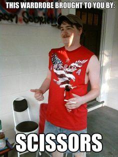 Redneck!