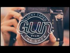 LUCKY TAPES / Gun - YouTube Video Japanese, Alternative Music, My Works, Music Videos, Guns, Typography, Album, Logos, Logo