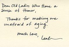 Dear Old Ladies