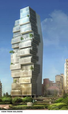Gallery of Beirut Residential Building / ACCENT DESIGN GROUP - 5