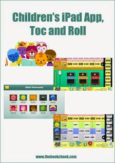 The Book Chook: Children's iPad #App, Toc and Roll #edtech