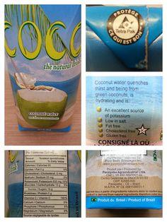COCO -$2 Coconut Water, Cholesterol, Diet, Vegan, Agua De Coco, Per Diem, Diets, Loose Weight