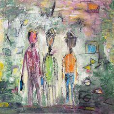Begegnung - Acryl on Canvas