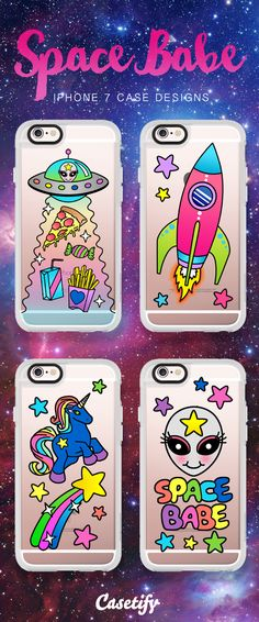 ★Casetify iPhone 7 Case and Other iPhone Covers - Space Babe collection by #JadeBoylan ★ #Casetify