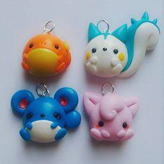 Nouveaux colliers chibi Pokemon disponibles sur ma boutique en ligne, le lien est dans la description ! • • #polymer #polymerclay #handmade #faitmain #fimocraft #fimo #creation #chibi #pokemon #pokémon #cutie #cute #kawaii #geek #otaku