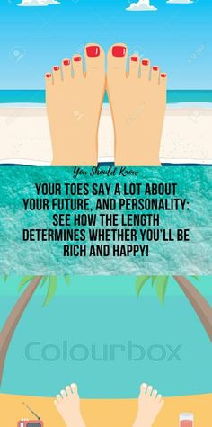 YOUR TOES SAY A LOT ABOUT YOUR FUTURE, AND PERSONALITY: SEE HOW THE LENGTH DETERMINES WHETHER YOU'LL BE RICH AND HAPPY! Health And Fitness Articles, Health And Nutrition, Health And Wellness, Wellness Fitness, Fitness Diet, Health Fitness, Natural Health Remedies, Natural Cures, Trapezius Stretch