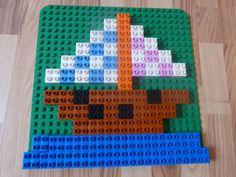 Schiff aus Lego Duplo Steinen