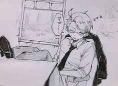 埋め込み Anime Sketch, Hetalia, Aesthetic Anime, Art Sketches, Cool Art, Anime Art, Cartoon, Twitter, Devil