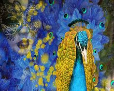 charming blue by Kate Zatserkovna on Etsy