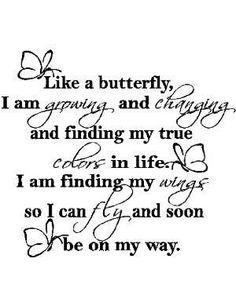 Like a butterfly...