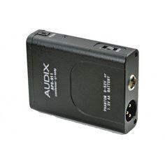 ACCESORIOS,ACCESORIOS, VARIOS,ACCESORIO PARA MICROFONO - AUDIX 397106 - APS-911.FUENTE DE ALIMENTACION PHANTOM PARA MICROFONO Adaptador de Phantom (9-52V) o fuente de alimentación Phantom con baterias AA para usar con los micrófonos acabados en mini XLR-F. Botón On/Off y conmutador de filtro roll-off. #ÚltimasUnidades #Rebajas #Descuentos #Sales #Discounts
