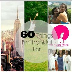 60 Things I'm #thankful for! #New #blog post is live on our website! Link in the bio! #Thanksgiving