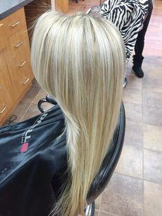 Cool tone blonde