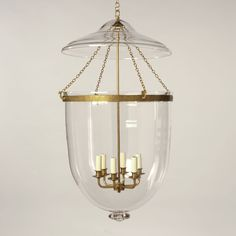 Vaughan Glass Globe Lantern in Brass, Plain, Extra Extra Large with 6 lights Lantern Pendant Lighting, Modern Chandelier, Hallway Decorating, Glass Globe, Mini Pendant, Contemporary Interior, Home Lighting, Light Decorations, Glass Pendants