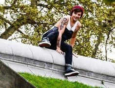 He looks like your rebel boyfriend and he's sneaking out to see you<---- I'm good with that :p