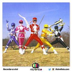 Si eres de la generación Power Rangers, ya eres Retro
