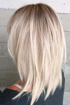 Medium Length Hairstyles to Rock this Summer ★ See more: http://glaminati.com/medium-length-hairstyles-long-thick-hair/