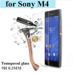 Ultra Thin Tempered Glass Screen Protector For Sony Xperia M4 Aqua HD Film SP075 #UnbrandedGeneric