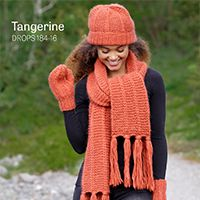 Women - Free knitting patterns and crochet patterns by DROPS Design Baby Knitting Patterns, Free Knitting, Crochet Patterns, Free Crochet, Drops Design, Cozy Scarf, Scarf Hat, Fringe Scarf, Mittens Pattern