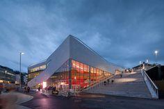 Джаз на крыше: культурный центр от копенгагенского бюро 3XN :: Архплатформа
