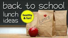 Fun & Healthy Back to School Lunch Ideas | Save.com #backtoschool