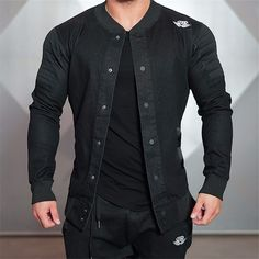19.99$  Buy here - 2016 Top Quality Boutique Brand Jacket Men Slim Fit Male Casual Jackets For Men Chaqueta Hombre   #aliexpresschina