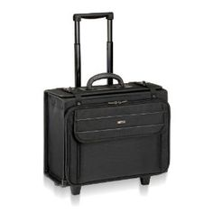 "Solo Computer Case, with File Hanger, 18-1/4 x 9 x 15-1/2, Black (USLB1514) by SOLO. $65.82. Rolling Laptop Catalog Case features a removable, padded CheckFast sleeve in the main compartment. The sleeve holds 17"" laptops. Removable, hanging file folder frame includes hanging file folders. Design also features zip-down organizer compartment, accordion fan file, disk/accessory pockets, dual lockable speed buckles, and external zippered pockets. Carry with top han..."