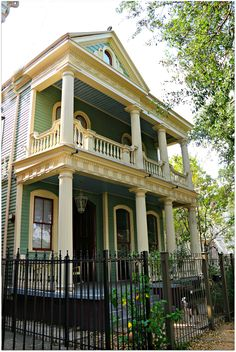Prytania Street in New Orleans. The husband and I stayed near here on our first three trips to New Orleans. New Orleans Homes, New Orleans Louisiana, Louisiana Homes, New Orleans Architecture, Southern Architecture, New Orleans French Quarter, Just Dream, Historic Homes, Victorian Homes