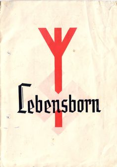 Lebensborn brochure for the expectant mother (Home resin in Wernigerode 1943).