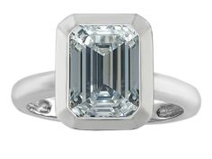 Star K Emerald Cut Octagon Solitaire Ring with Simulated Aquamarine in Sterling Silver Size Women's, Size: Width: 10 mm Length: 11 mm Solitaire Engagement, Solitaire Ring, Blue Opal, White Topaz, Blue Sapphire, Star K, Promise Rings, Emerald Cut, Jewelry Collection