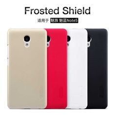 Meizu Meilan Note 5 cover Case NILLKIN Super Frosted Shield matte hard back cover case and screen protector for Meizu M5 note