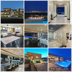 $7,499,900 Listing provided by Luxury Homes of Las Vegas Contact Alex for viewings 7023387282 This amazing home on oversized corner lot has breathtaking Strip views, 19 car garages with 14 being subterranean, 2 laundry rooms, 8 bedrooms, 10 bathrooms, tiered media rm w/5 tvs & large projection, a casita w/bedroom, WIC & bath, a large game room, office, AMAZING gourmet kitch w/2 large islands, B/Bar, Miele coffee, top of the line Viking SS appliances, 2 sub zeros, gigantic pantry w/additional…