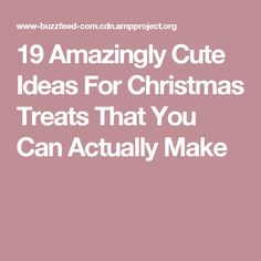 19 Amazingly Cute Ideas For Christmas Treats That You Can Actually Make Oreo Truffles Christmas, Christmas Tree Brownies, Christmas Snacks, Christmas Cooking, Christmas Candy, Christmas Recipes, Diy Christmas, Holiday Recipes, Chewy Ginger Cookies