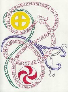 rune dragon color