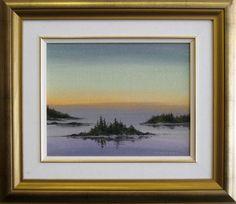 41|  Title: After Glory - Georgian Bay |  Artist: Robert Anderson  |  Media: Acrylic on Canvas