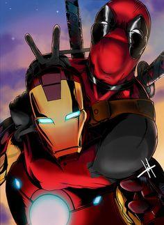Deadpool and Iron Man