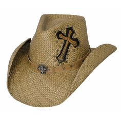Bullhide Cowboy Hats for women are western hats worthy of praise, cross hat crown applique, pinchfront cowgirl hat crown, shapeable hat brim Cowgirl Hats, Western Hats, Western Wear, Western Style, Cowboy Western, Crossbody Saddle Bag, Saddle Bags, Cowboy Prayer, Thing 1