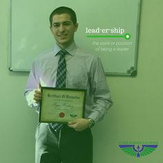 #Leadership: the state or position of being a leader.  Power Business Solutions would like to congratulate Ryan on his official promotion to Account Manager! His work ethic and dedication are a huge factor in this #promotion   This is the first of many steps in his career.  Great job Ryan!