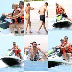 Scott Disickand his young lover Sofia Richie kept each other close while fly skiing off the coastline of theMexican traveler trap on Monday.  The 34-year-old reality star sat behind his bathing suit wear. ear-former sweetheart and extended his conditioned arms around her to seize the handlebars.  The so called Master Disick had been seen prior in the day demonstrating brilliant pink bathing suit however was flaunting his legs in a modest dark match when he mounted the fly ski.  Scott had an…