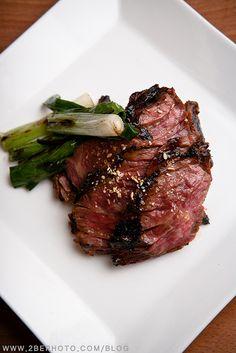 skirt steak korean bbq style