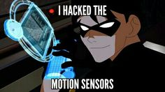 Robin the first episode young justice
