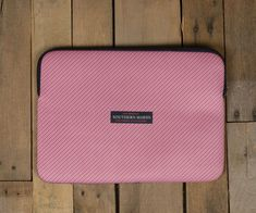 Southern Marsh Collection — Southern Marsh Laptop Case Orange and Navy  Stripe  laptopscase 8841fe10b3bc