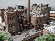 Industrial park part 1 – page 20 – Stummis Modellbahnforum - Scale Models N Scale Train Layout, Model Train Layouts, N Scale Model Trains, Scale Models, Escala Ho, Victorian Buildings, Ho Trains, Industrial Photography, Model Ships