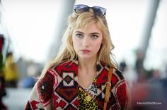 A Long Way Down- Imogen Poots hair in this film is so pretty