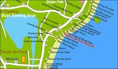 Bilderesultat for malibu resort koh samet Koh Samet, Pont Du Gard, Thailand, Map, Search, Location Map, Searching, Maps
